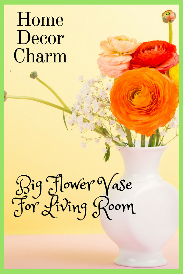 Big Flower Vase For Living Room Home Decor Charm